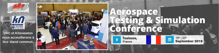 VRC et Kilonewton disposeront d'un stand commun à ATC-ASC Europe Toulouse 2018.